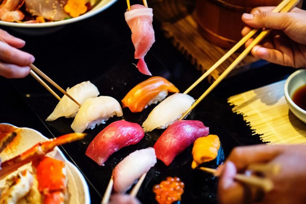 Existen muchos tipos de sushi según su forma y elaboración.