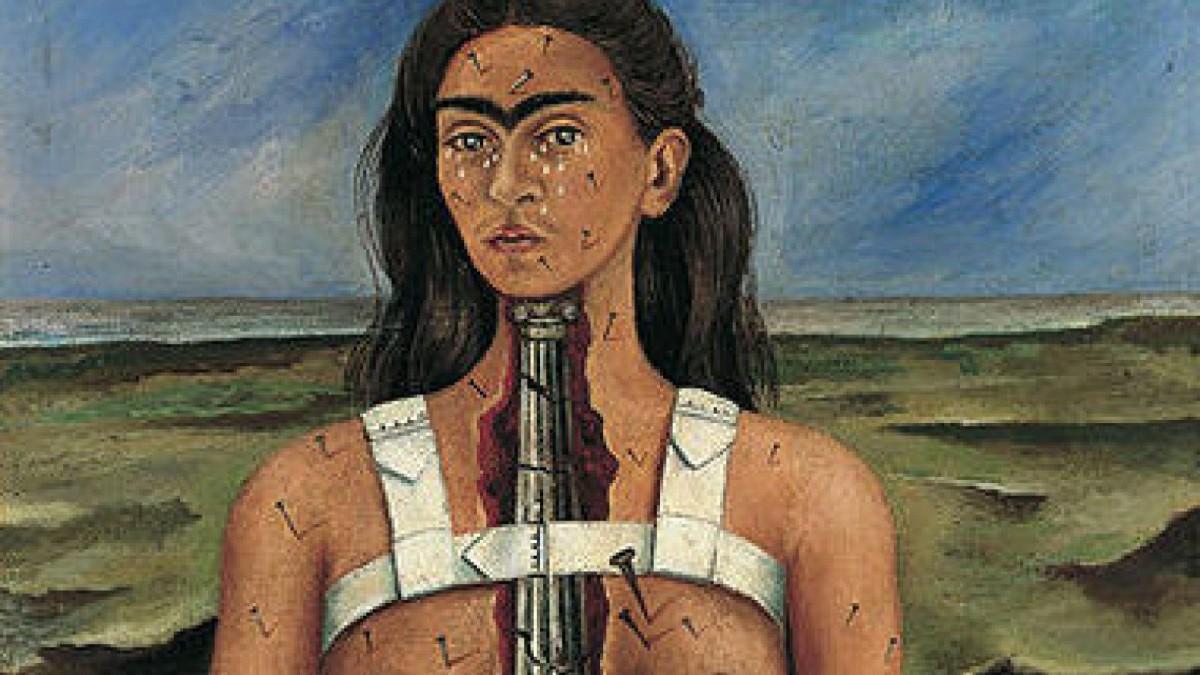 Otro de los autorretratos de la artista mexicana Frida Kahlo.