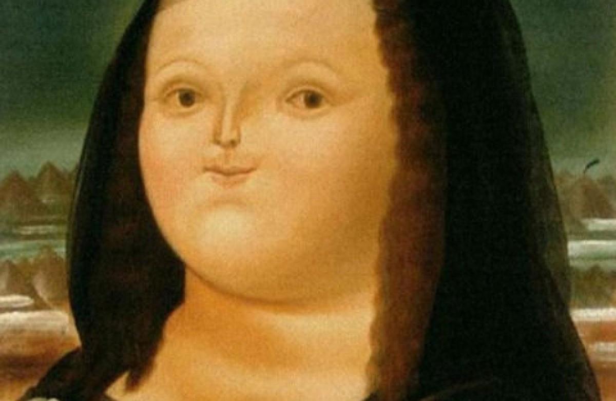 La Mona Lisa a los 12 años de Botero.