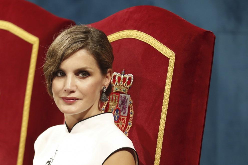 La reina Letizia durante los Premios Princesa de Asturias