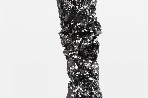 Botas altas de lentejuelas de Topshop, cuyo precio es de 125 euros