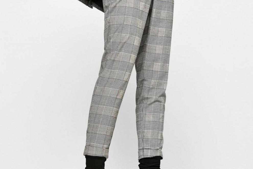 Pantalón tailoring jogger con pinzas de Bershka, por 19,99 euros