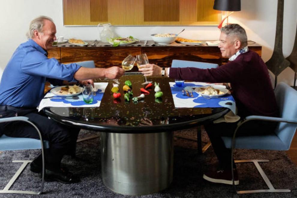 Bertín Osborne y Boris Izaguirre en 'Mi casa es la tuya'