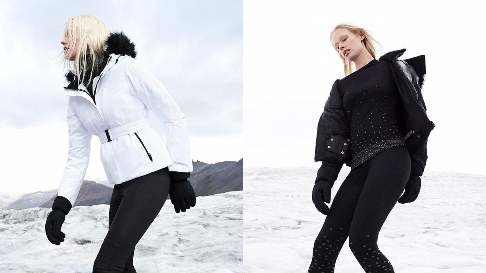 Algunos los 'looks' de la nueva colección de esquí de Oysho