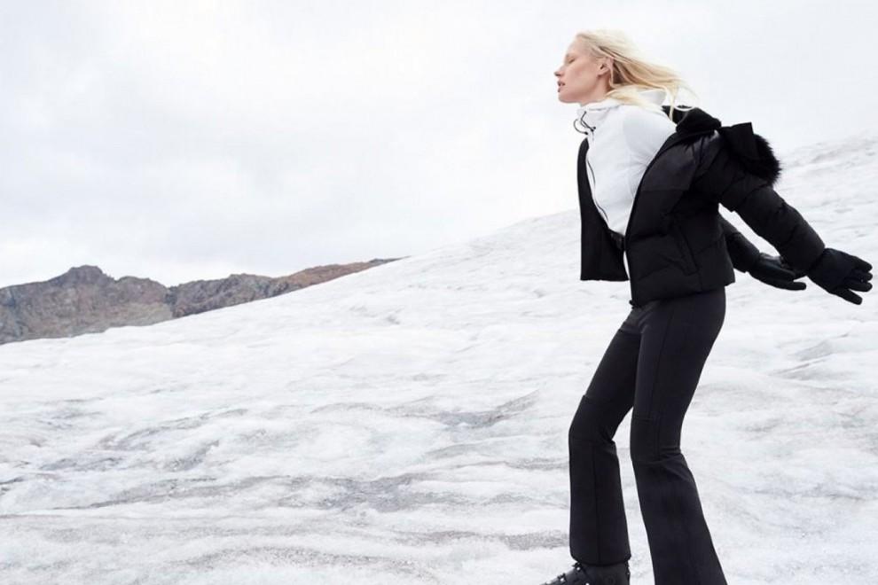 Uno de los 'looks' de la nueva colección de esquí de Oysho