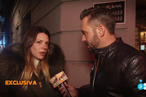 Laura Matamoros declarando para 'Sálvame'