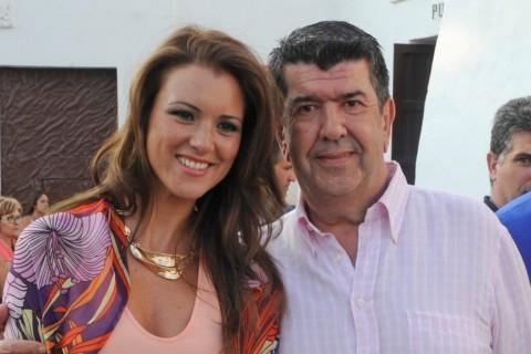 María Jesús Ruiz y Gil Silgado en Ronda, Málaga