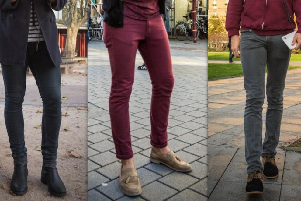 Los pantalones demasiado ajustads.... ¡ay!