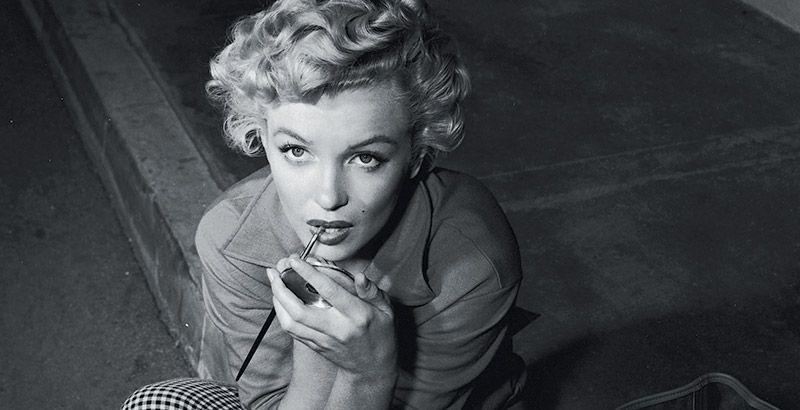 Marilyn Monroe blanco y negro