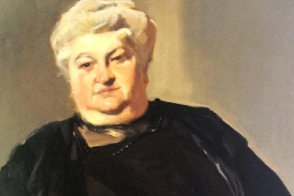 Emilia Pardo Bazán pintura