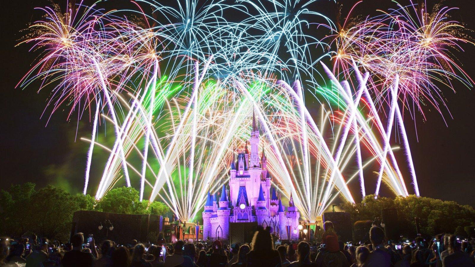 El fin de año en Disneyland es mágico.