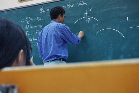 Pizarra Ramas de la física