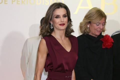 La reina Letizia en los Premios Mariano de Cavia 2017