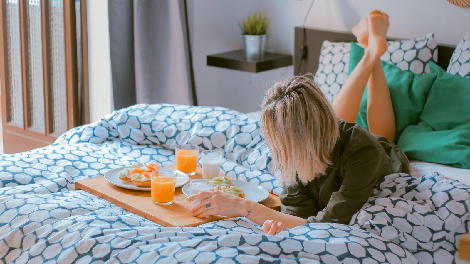 Planifica tus mañanas para poder ir más relajada.