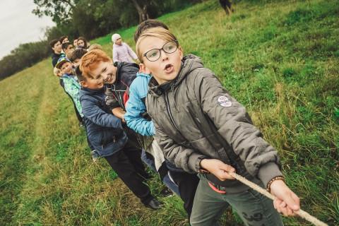 Juegos cooperativos para niños