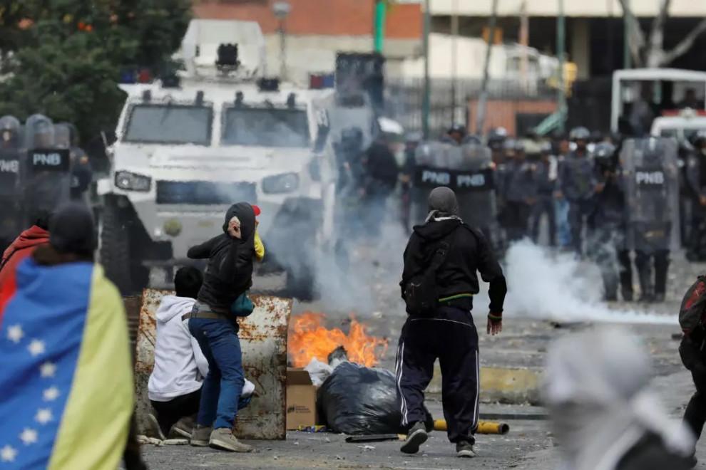 Barrios peligrosos Venezuela