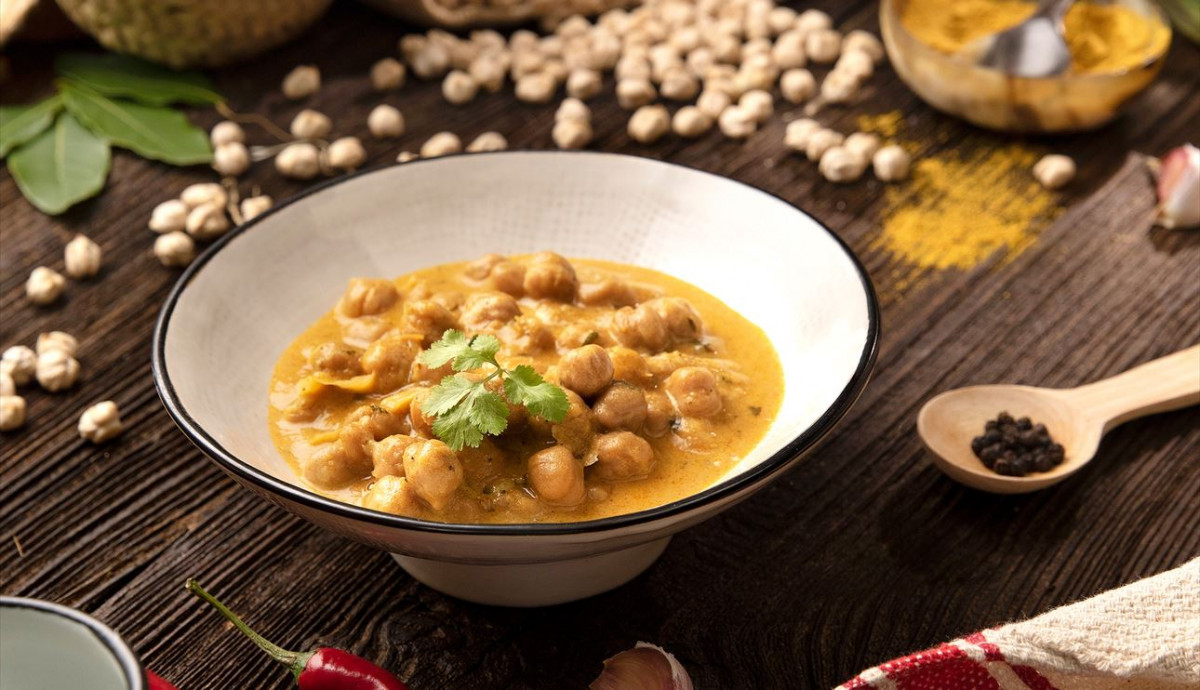 Garbanzos curry