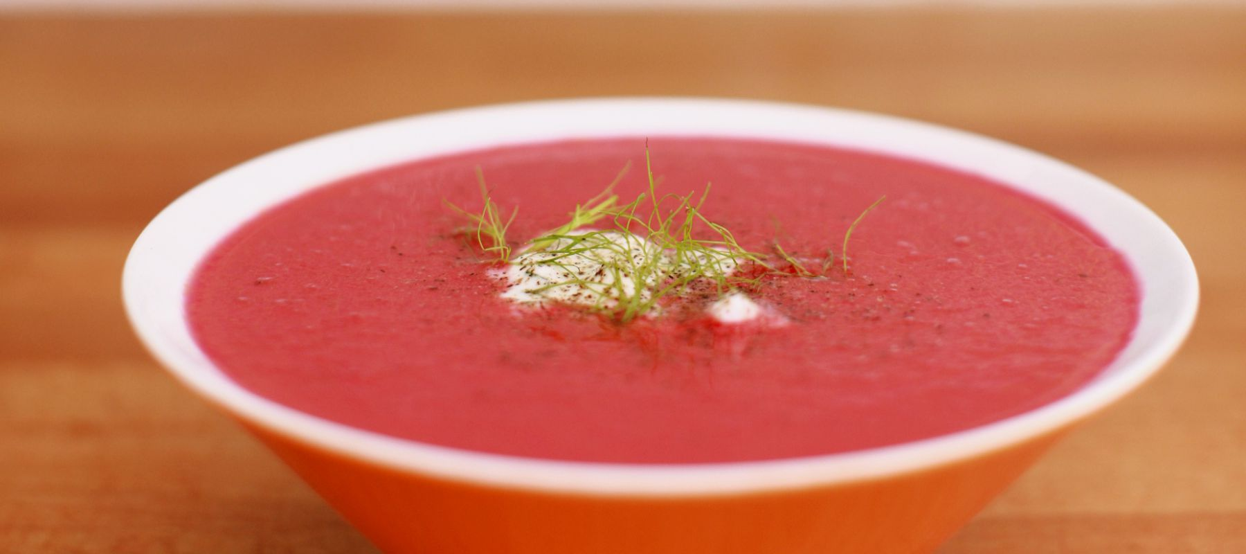 Sopa remolacha