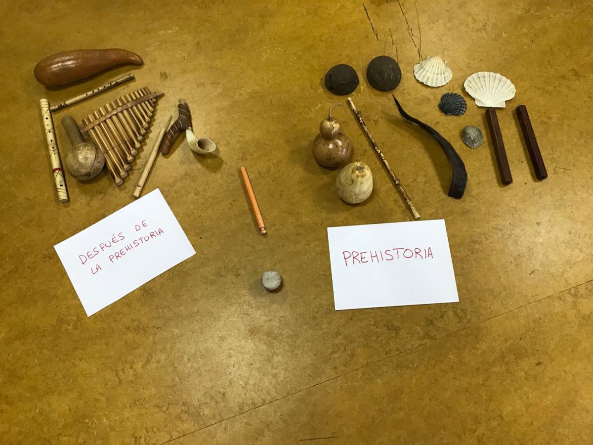 Música prehistoria historia