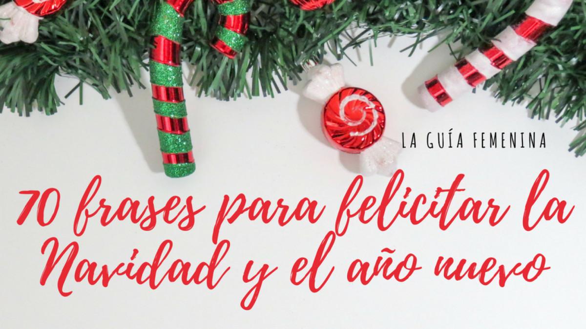 Las mejores frases para felicitar la navidad