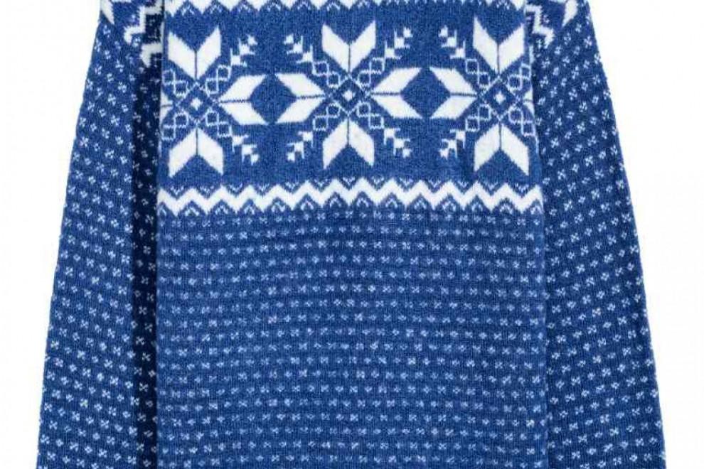 El jersey de moda este invierno es el tricotado con cenefas