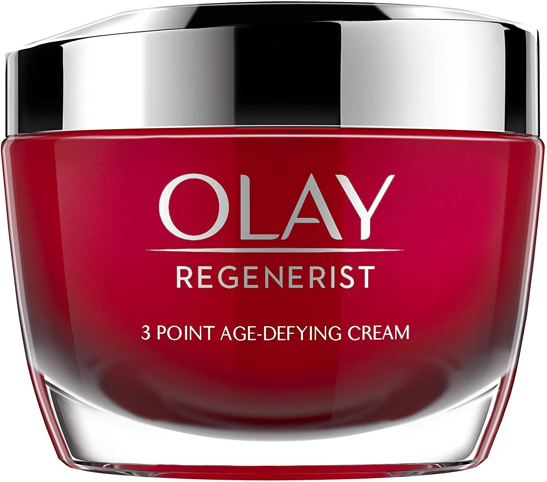 Olay Regenerist, Crema hidratante de día, Crema facial con niacinamida y péptidos, 50 ml