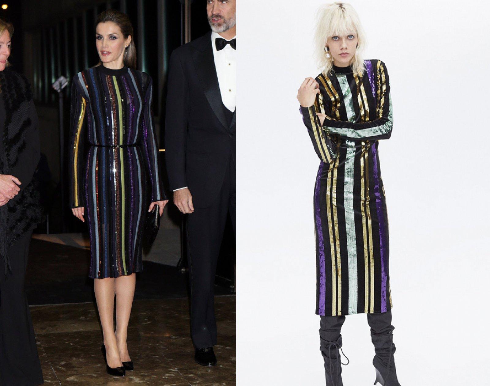El vestido de Nina Ricci y el diseño de Zara