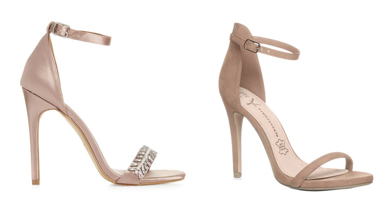 Las sandalias en color 'nude' de Primark