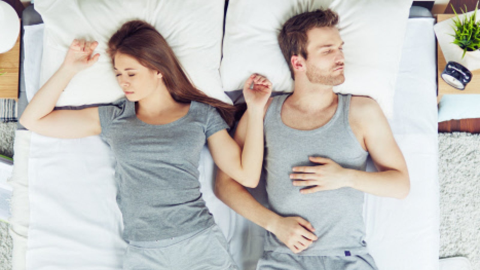 Dormir cada uno por su lado indica que buscan su espacio.