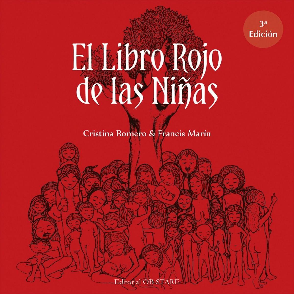 El libro rojo de las niñas de Cristina Romero.