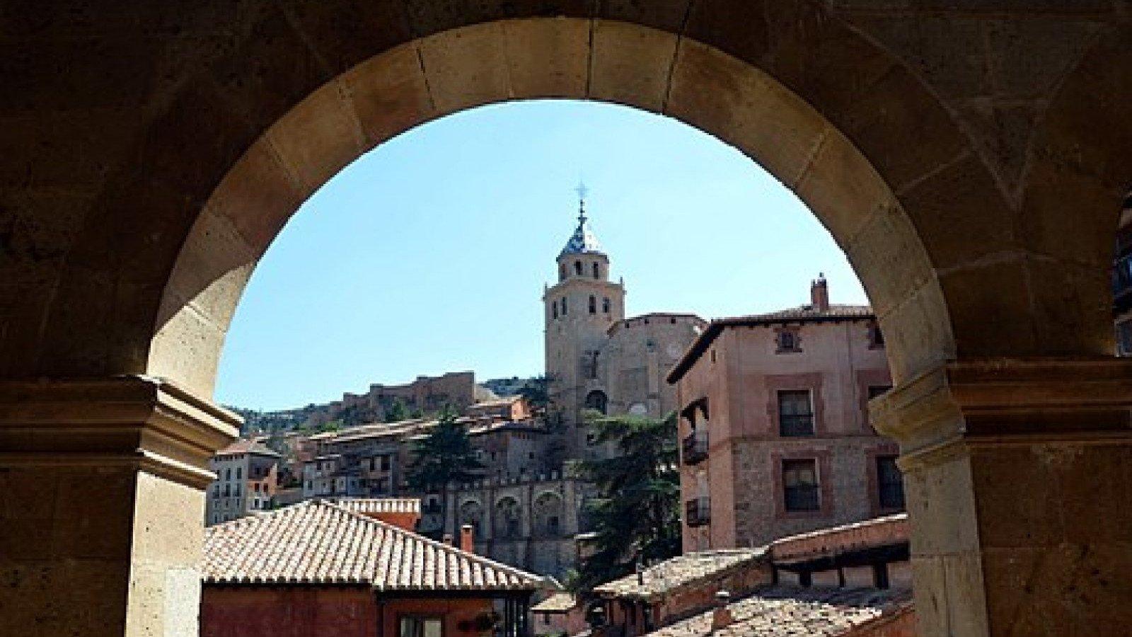Vistas de Albarracín, en la provincia de Teruel.