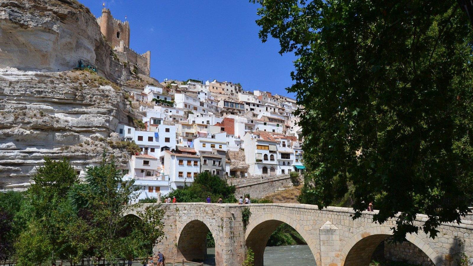 La pintoresca localidad de Alcalá del Júcar, en Albacete.