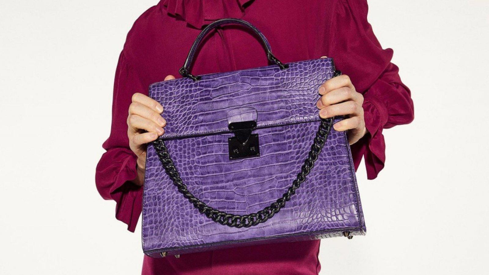 Bolso Coco Imagen color 'Ultra Violet' de Sfera, por 39,99 euros