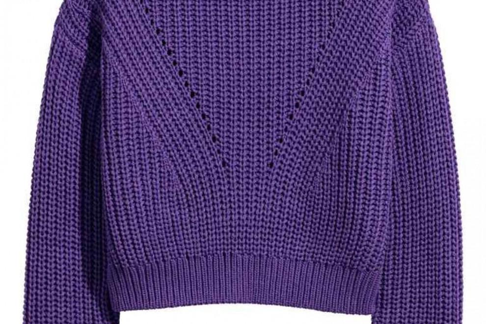 Jersey en punto de canalé de H&M, por 19,99 euros