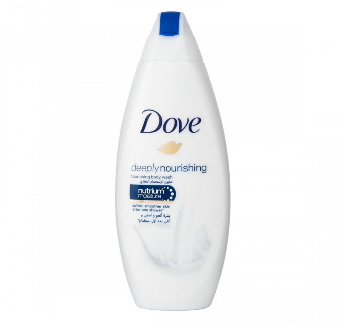 Gel de ducha nutritivo de Dove