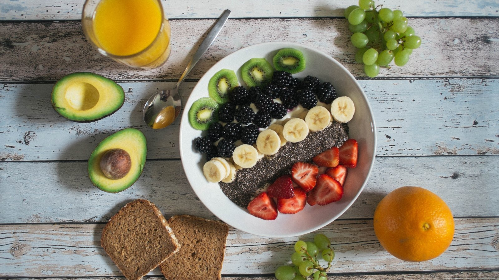 Desayuno ligero pero nutritivo para empezar el día.