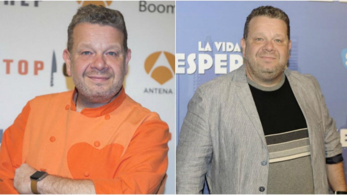 El chef y presentador perdió esos kilos de más.