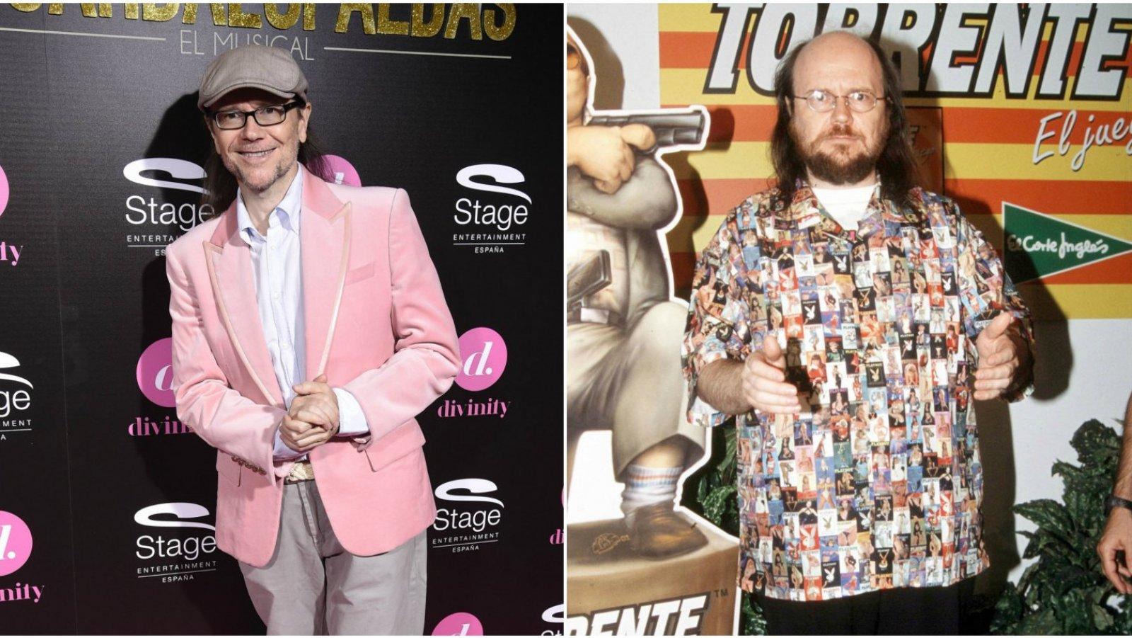 El actor y director bajó mucho su peso tras engordar para el papel de Torrente.