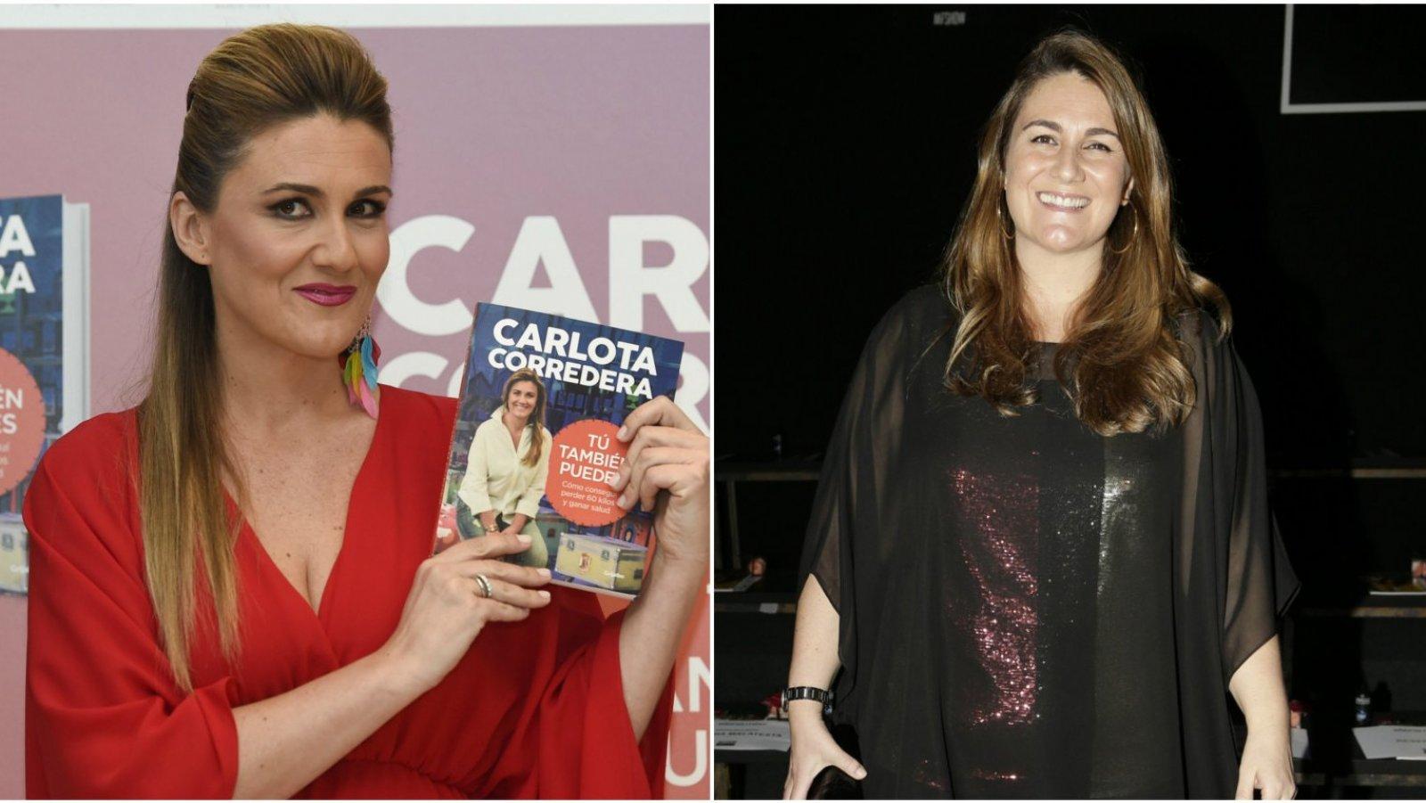 Carlota Corredera con su transformación.