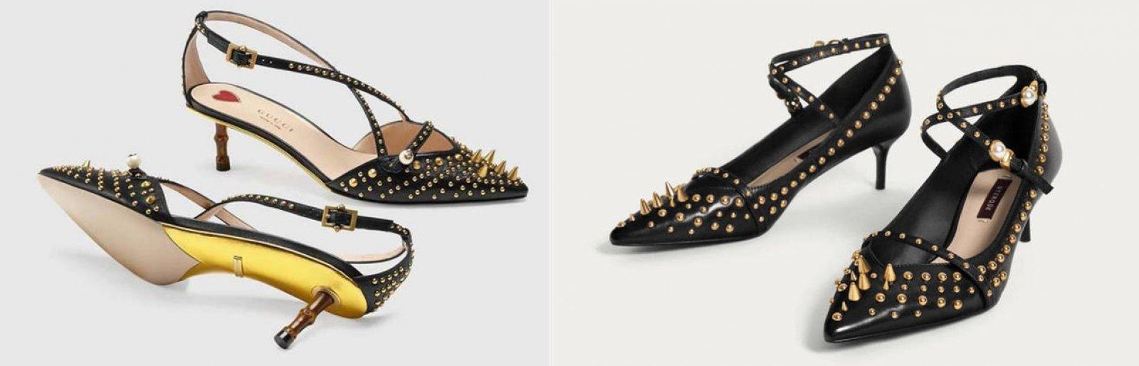 Los zapatos de Gucci vs. la versión de Uterqüe que ha lucido la reina Letizia