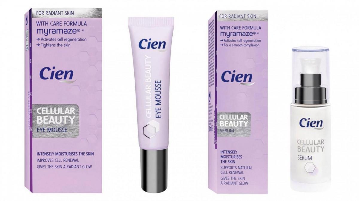 Varios de los productos de la gama Cellular Beauty Cien de Lidl
