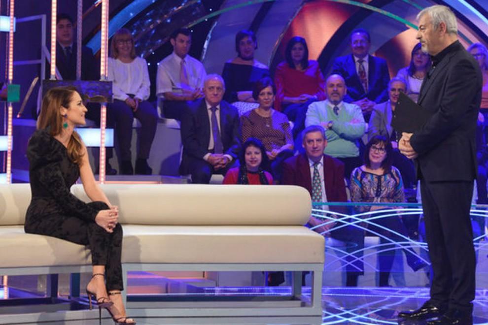 Paula Echevarría y Carlos Sobera en 'Volverte a ver'