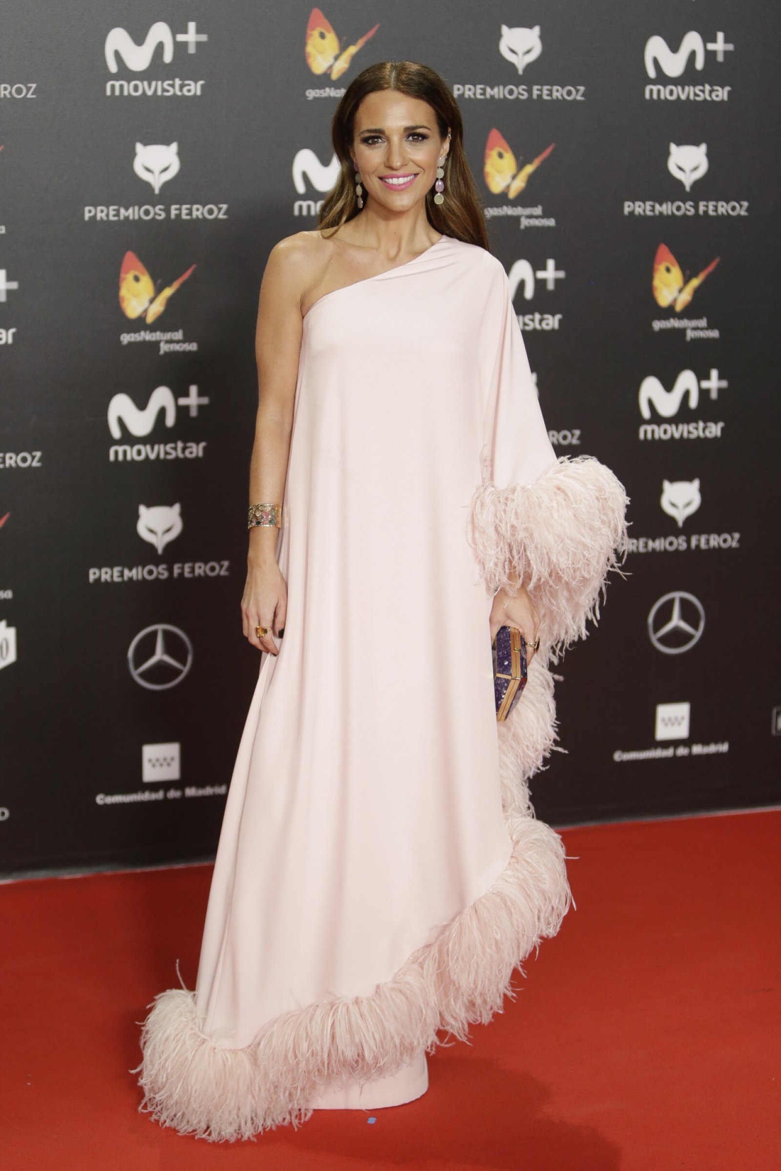 El estilismo elegido por Paula Echevarría con el que ha deslumbrado en la alfombra roja
