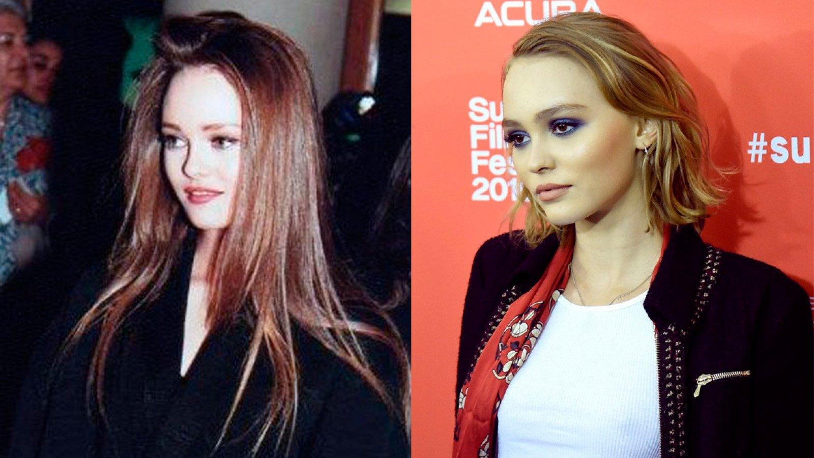 Vanessa Paradis y Lily-Rose Depp