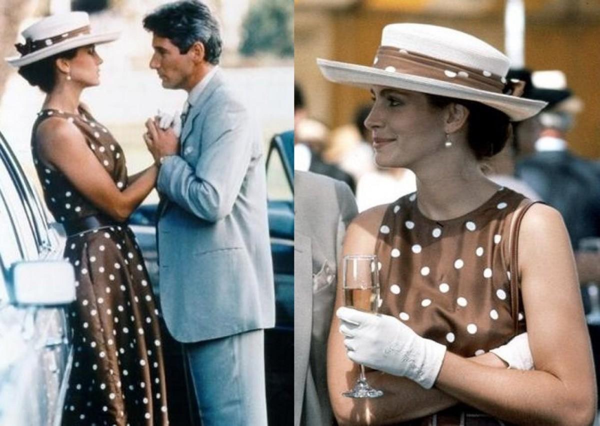 El mítico vestido de lunares de Vivian en la película 'Pretty Woman'