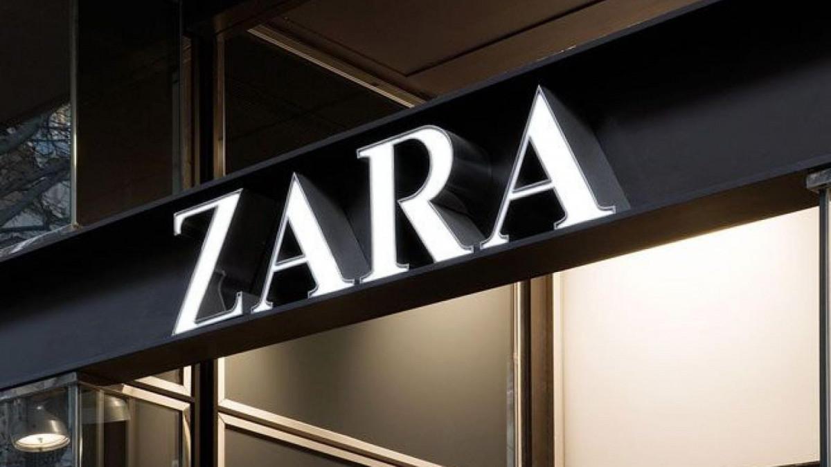 Imagen de archivo de un rótulo de Zara
