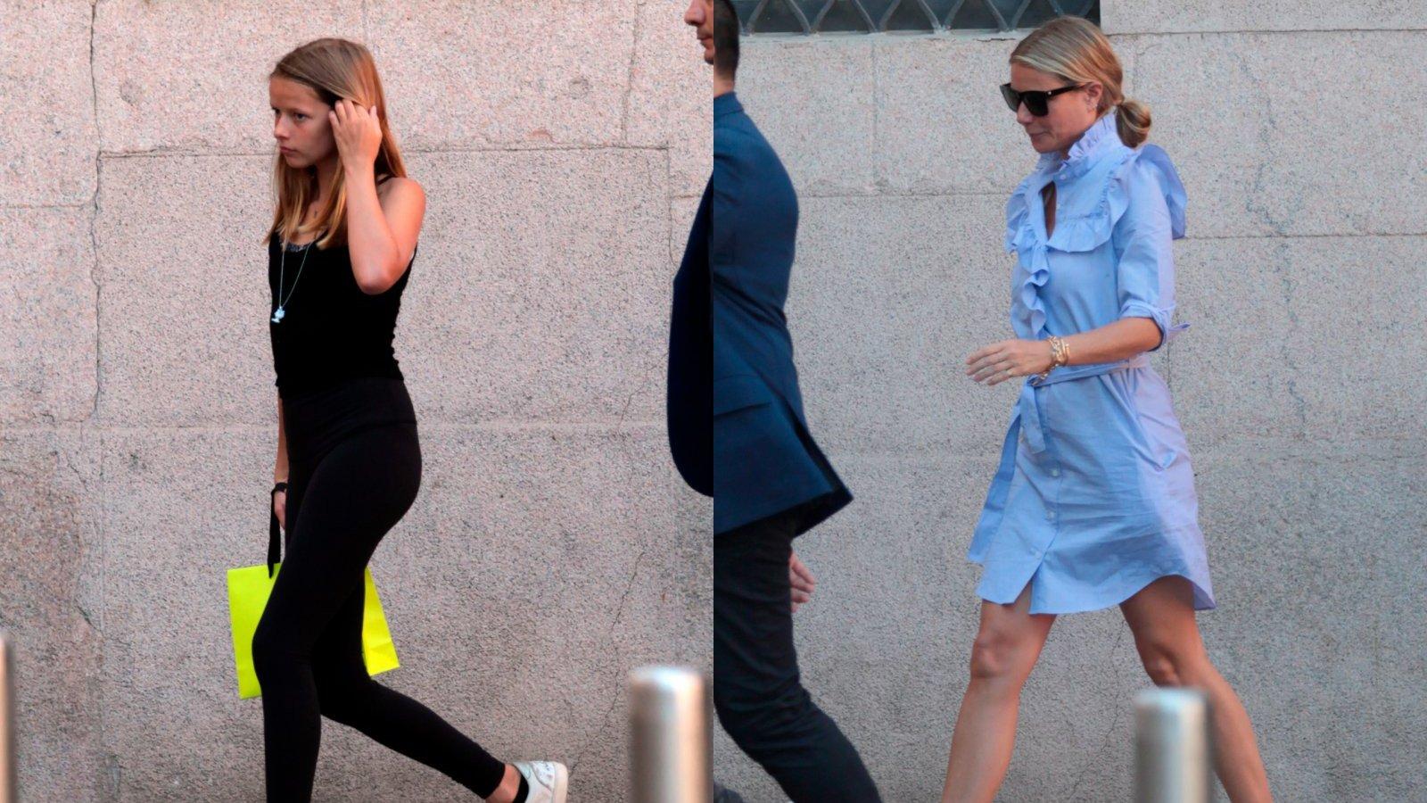 Apple Martin y Gwyneth Paltrow