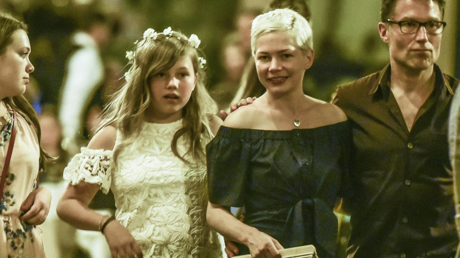 Matilda Ledger y Michelle Williams