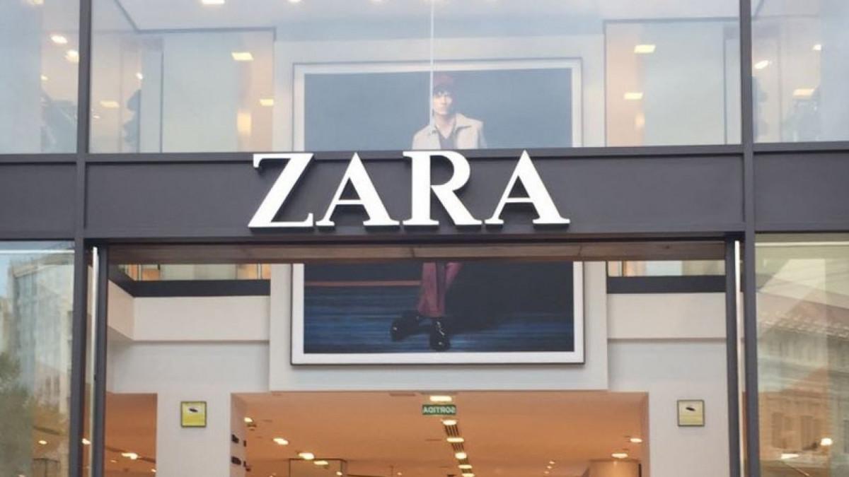 Imagen de archivo de una tienda Zara.