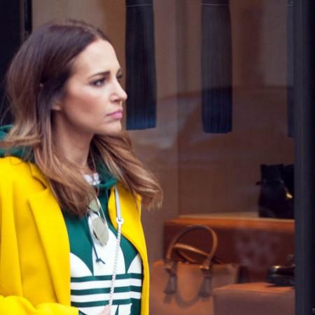 Paula Echevarría paseando por Madrid